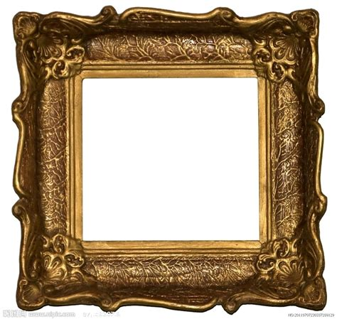 金色框架摄影图 生活素材 生活百科 摄影图库 昵图网nipic