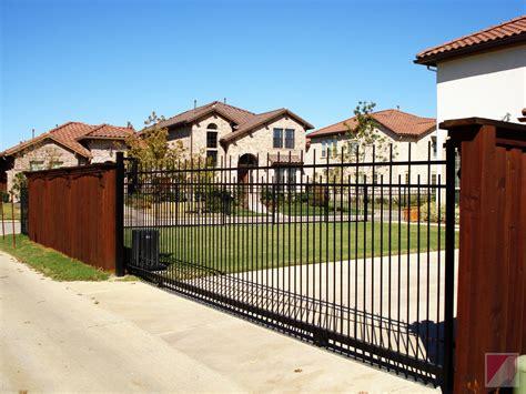 Fence - Gate : Electric Gates-ace Fence Company