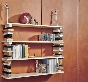 Bücherregal Selber Bauen Holz : b cherregal selber machen heimwerkermagazin ~ Lizthompson.info Haus und Dekorationen