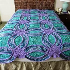 Ring Wedding Crochet Quilt - STYLESIDEA