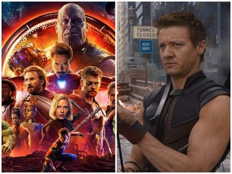 Jeremy Renner Makers Avengers Infinity War Reveal