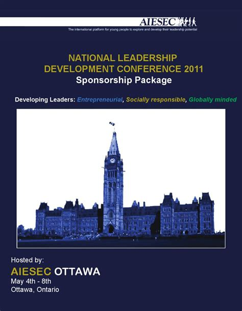 aiesec national leadership development conference