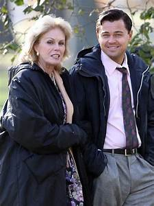 Joanna Lumley and Leonardo DiCaprio on set - On Set With ...