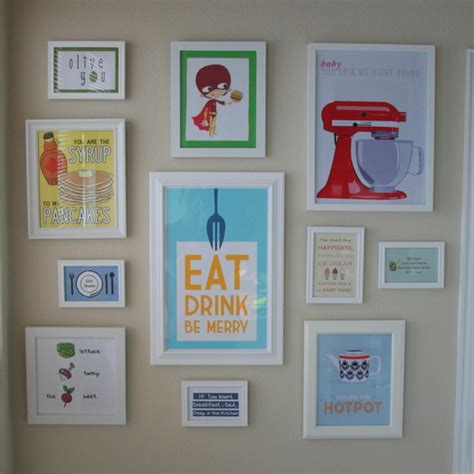 differentact normal  printable kitchen wall art