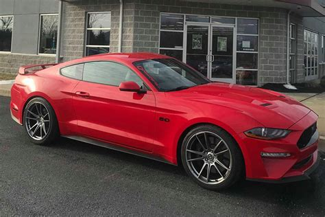 2018 Mustang Gt by Lowering A 2018 Mustang Gt With Magneride Suspension