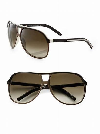 Sunglasses Dior Aviator Acetate Shield Homme Lyst