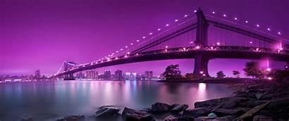 Ultra Wide Ultrawide Purple Sky