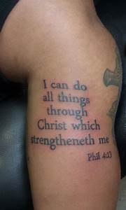 Scripture Tattoos Designs, Ideas and Meaning | Tattoos For You