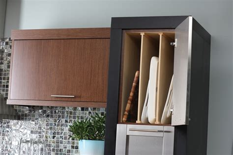 tray dividers for kitchen cabinets cardinal kitchens baths storage solutions 101 pots 8587