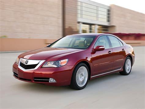 Acura RL : 2008, 2009, 2010, 2011, 2012