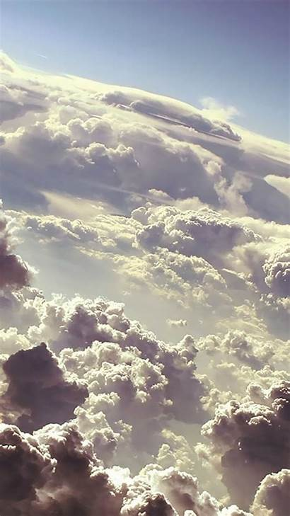 Iphone Clouds Cloud Sky Backgrounds Wallpapers Phone