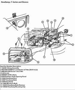 94 Ford F150  Need To Change The Headlight Out  Assembly
