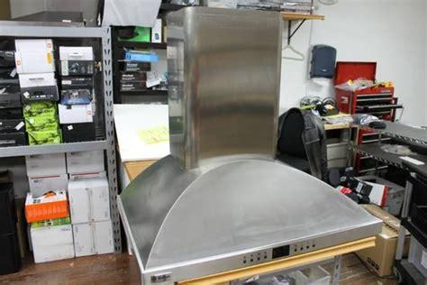 ge monogram zvsdss  stainless steel wall mounted vent hood  sale  belmar