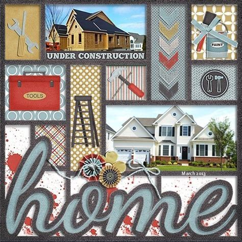New Home Layouts by 7 Best Layouts Moving Day Images On Scrapbook