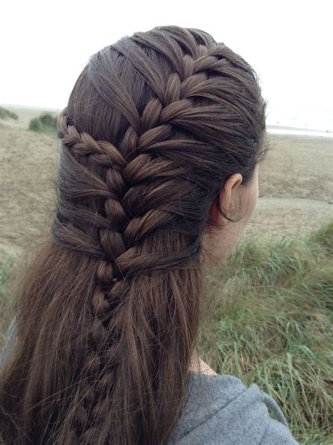 Mermaid Braid Braided And Plaited Pinterest Mermaid
