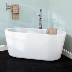 55quot Abescon Acrylic Freestanding Tub Bathroom