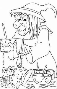 Free Coloring Pages: Halloween Witch : halloween coloring ...