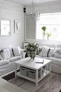 Shabby Chic Wohnzimmer : romantic shabby chic living room ideas ~ Frokenaadalensverden.com Haus und Dekorationen