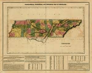 Historical Tennessee Map