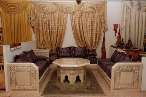 Décoration Maison Marocaine Moderne  Décor Salon Marocain