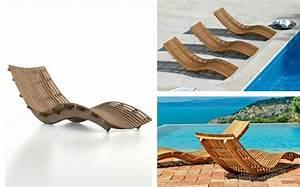 Liege Aus Holz : der liegestuhl aus holz von unopiu hnelt einer welle ~ Sanjose-hotels-ca.com Haus und Dekorationen