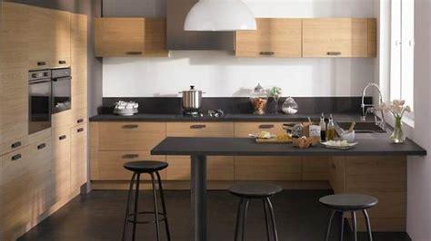 comptoir de cuisine noir cuisine comptoir noir