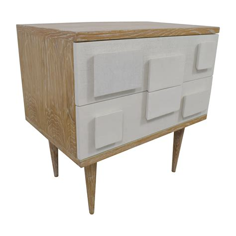 side table with two drawers 84 off bungalow 5 bungalow 5 ponti two drawer side