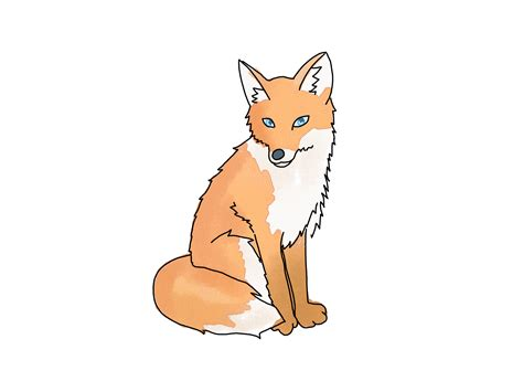 fox cartoon   clip art  clip art