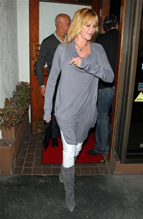 melanie griffith knee high boots knee high boots