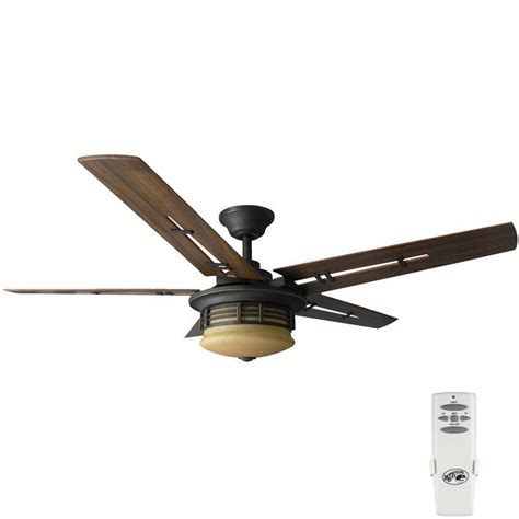 rubbed bronze ceiling fan light kit hton bay pendleton 52 in indoor oil rubbed bronze