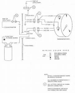 Tachometer Wiring Diagram For 1968 Ford Mustang