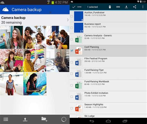 onedrive for android updated microsoft rebrands skydrive as onedrive updates