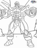 Thanos Coloring Pages Printable Para Marvel Muscles Infinity Avengers Print Colorear Dibujos Gauntlet Game Colorir Superheroes Navigation Super Disney War sketch template