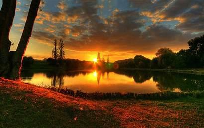 Sunset Wallpapers River 4k Desktop