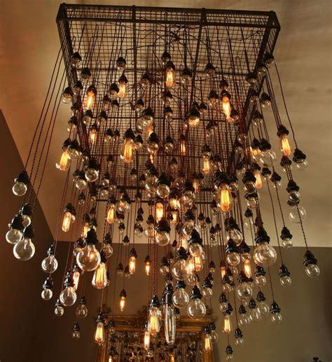best 25 edison bulb chandelier ideas on