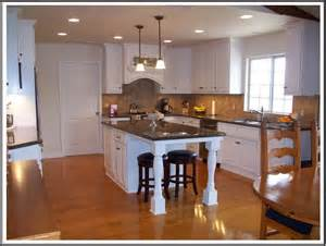 kitchen with islands kitchen butcher block islands with seating cabin staircase farmhouse medium specialty