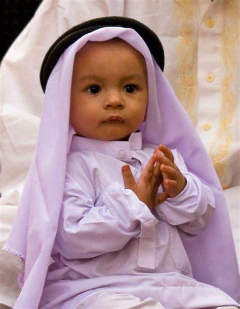 foto foto menggemaskan bayi muslim   dunia