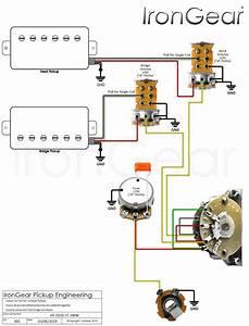 Humbucker Coil Split Wiring Diagram