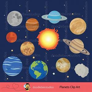 Planets Clipart Outer Space Clipart Solar System Clip Art