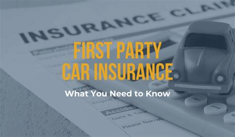 First party insurance is a system under which insurance cover is ensured and compensation is granted immediately by the insurer to the injured party. First Party Car Insurance: What You Need To Know | Michigan Auto Law