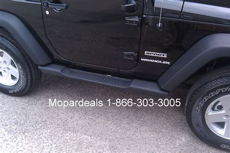 2007   2016 Jeep Wrangler JK 2 Door Mopar Side Steps