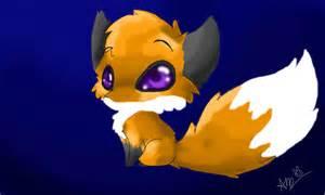 Cute Anime Chibi Fox