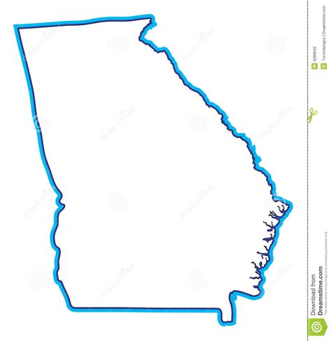 clipart outline  georgia png  cliparts