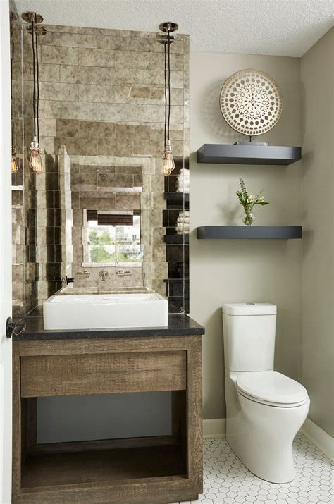 Antique Stone Sinks by Powder Room Designs Powder Room Traditional With Tile