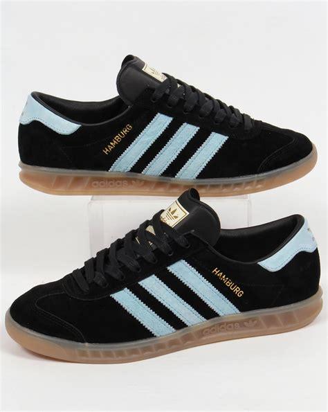 Adidas Hamburg adidas hamburg trainers black blush blue originals shoes