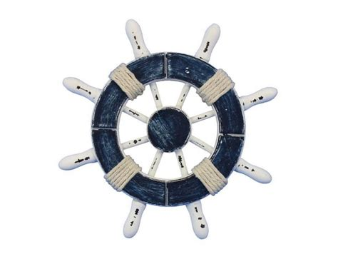 Boat Accessories Los Angeles by Wholesale Rustic Blue And White Decorative Ship Wheel