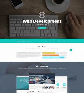 Web Design And Advertising Website Template  52537