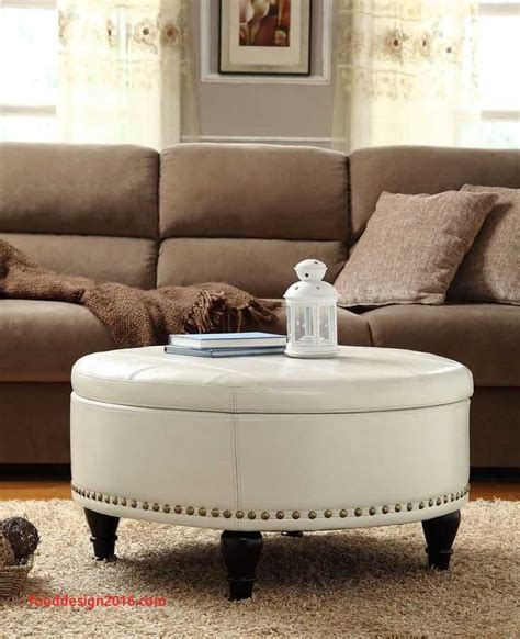 Premium quality durable large center table for living room and office spaces. 8 Round Coffee Table with Ottomans Underneath Inspiration