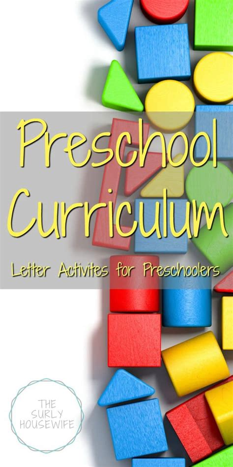 preschool material preschool curriculum letter activities for preschoolers 716