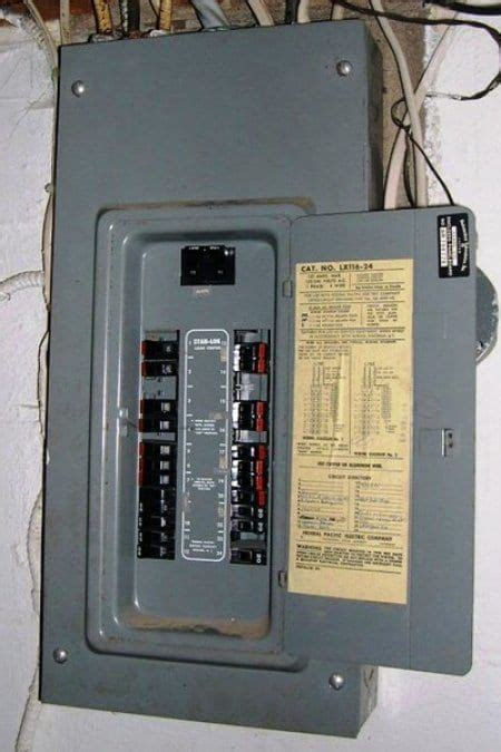 Home Electrical Wiring Circuit Box by Cost To Replace A Circuit Breaker Box Electrical Wiring